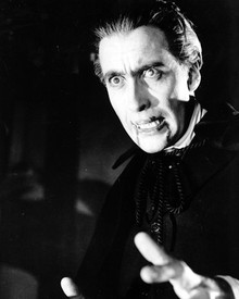 Christopher Lee in Dracula: Prince of Darkness Poster and Photo