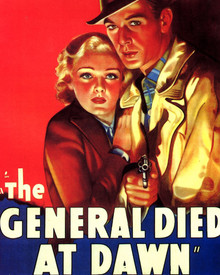 Poster in The General Died at Dawn Poster and Photo