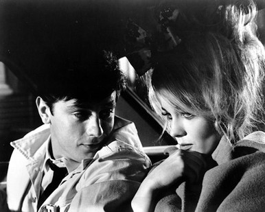 Alain Delon & Ann-Margret in Once a Thief Poster and Photo