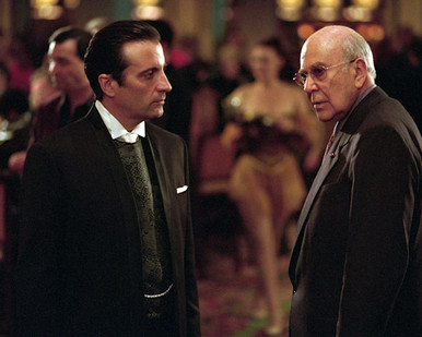 Andy Garcia & Carl Reiner in Ocean's Eleven a.k.a. O11 a.k.a. Ocean's 11 Poster and Photo