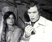 Michael Caine & Katharine Ross in The Swarm Poster and Photo