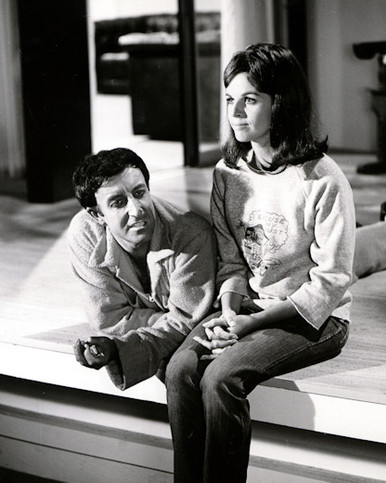 Peter Sellers & Claudine Longet in The Party Poster and Photo