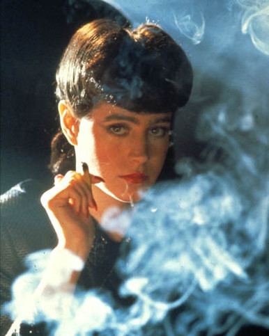 Sean Young in Blade Runner Poster and Photo