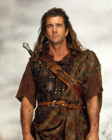 Mel Gibson in Braveheart Poster and Photo