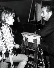 Walt Disney & Hayley Mills Poster and Photo