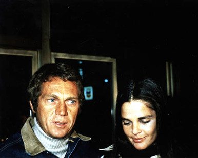 Steve McQueen & Ali MacGraw Poster and Photo