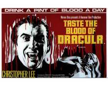 Poster in Taste the Blood of Dracula Poster and Photo