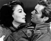 Ava Gardner & Dirk Bogarde in The Angel Wore Red Poster and Photo