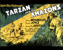 Poster in Tarzan and the Amazons Poster and Photo