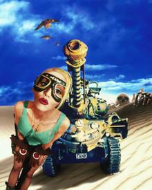 Lori Petty in Tank Girl Poster and Photo