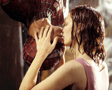Tobey Maguire & Kirsten Dunst in Spider-Man a.k.a. Spider Man a.k.a. Spiderman Poster and Photo