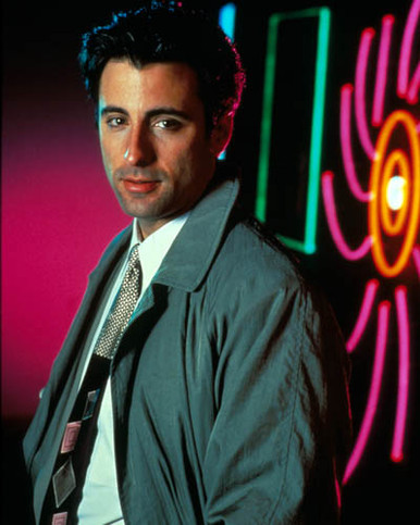 Andy Garcia in Black Rain Poster and Photo