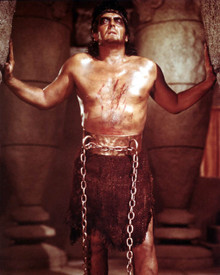 Victor Mature in Samson and Delilah (1949) Poster and Photo