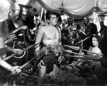 Victor Mature & Hedy Lamarr in Samson and Delilah (1949) Poster and Photo