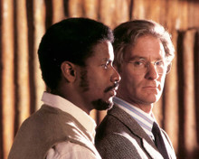 Kevin Kline & Denzel Washington in Cry Freedom Poster and Photo