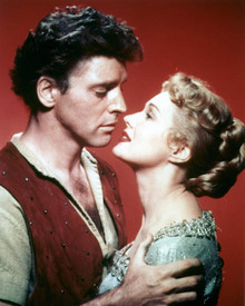 Burt Lancaster & Virginia Mayo in The Flame and the Arrow Poster and Photo