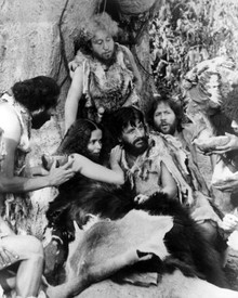 Ringo Starr & Barbara Bach in Caveman Poster and Photo