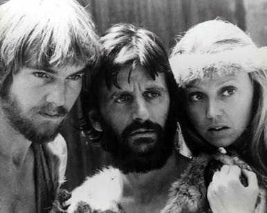 Dennis Quaid & Ringo Starr in Caveman Poster and Photo