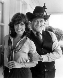 Larry Hagman & Linda Gray in Dallas (1978-1991) Poster and Photo