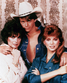Christopher Atkins & Linda Gray in Dallas (1978-1991) Poster and Photo