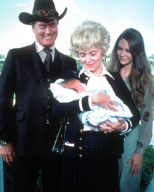 Larry Hagman & Mary Crosby in Dallas (1978-1991) Poster and Photo