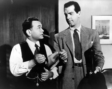 Fred MacMurray & Edward G. Robinson in Double Indemnity (1944) Poster and Photo