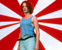 Franka Potente in Run Lola Run a.k.a. Lola Rennt Poster and Photo