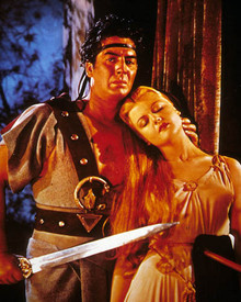 Victor Mature & Angela Lansbury in Samson and Delilah (1949) Poster and Photo