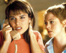 Neve Campbell in Scream Poster and Photo