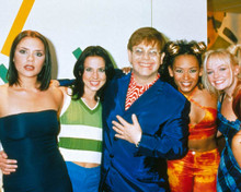 The Spice Girls & Elton John in Spiceworld The Movie Poster and Photo