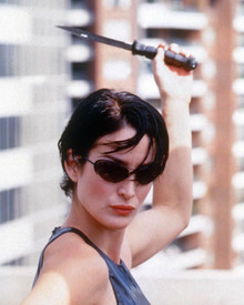 Carrie-Anne Moss in The Matrix Poster and Photo