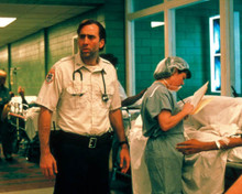 Nicolas Cage in Bringing Out the Dead Poster and Photo