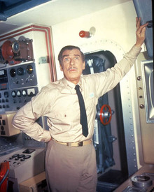 Walter Pidgeon in Voyage to the Bottom of the Sea Poster and Photo