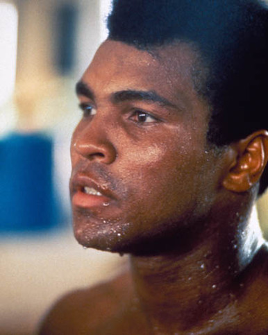 Muhammad Ali in When We Were Kings Poster and Photo