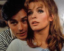 Alain Delon & Senta Berger in Diabolically Yours a.k.a. Diaboliquement votre Poster and Photo