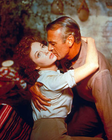Gary Cooper & Susan Hayward in Garden of Evil Poster and Photo