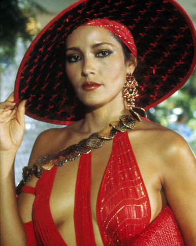 Barbara Carrera in Never Say Never Again Poster and Photo