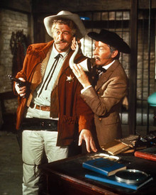 Kenneth Williams & Jon Pertwee in Carry On Cowboy Poster and Photo