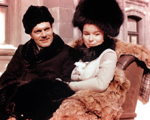 Omar Sharif & Geraldine Chaplin in Doctor Zhivago Poster and Photo