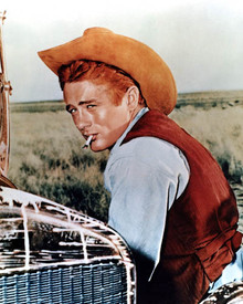 James Dean in Giant Poster and Photo