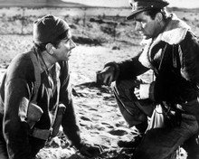 Robert Newton & Richard Burton in The Desert Rats Poster and Photo