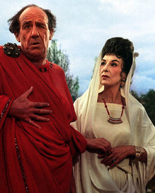 Michael Hordern in A Funny Thing Happened on the Way to the Forum Poster and Photo