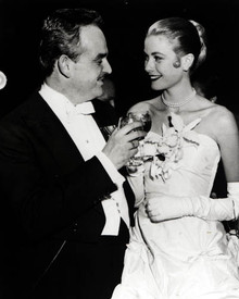 Prince Rainier & Grace Kelly Poster and Photo