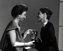Princess Anne & Audrey Hepburn Poster and Photo