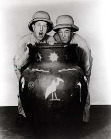 Bud Abbott & Lou Costello in Africa Screams Poster and Photo