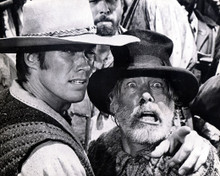 Lee Marvin & Clint Eastwood in Paint Your Wagon Poster and Photo
