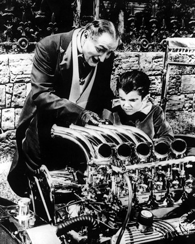 Al Lewis & Butch Patrick in The Munsters Poster and Photo