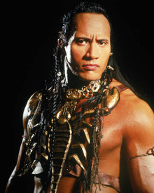 Dwayne Johnson in The Mummy Returns Poster and Photo