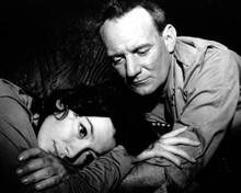 Trevor Howard & Juliette Greco in The Roots of Heaven Poster and Photo