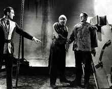 Basil Rathbone & Bela Lugosi in Son of Frankenstein Poster and Photo